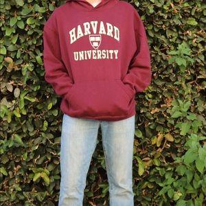 Men's Large Harvard Hoodie